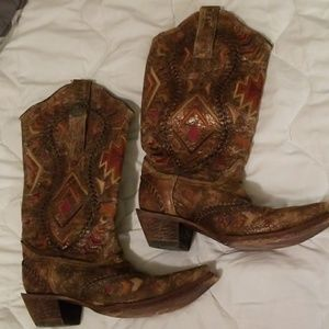 Corral Vintage cowgirl boots